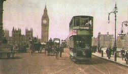 Car 320 on Westminster Bridge 1906