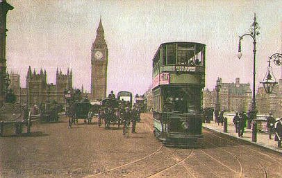 Car 320 on Westminster Bridge 1906