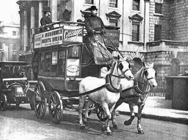 Horse drawn bus
