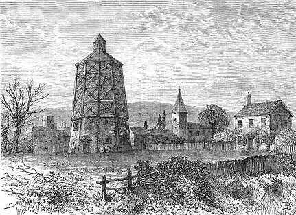 Old Battersea Mill c1800