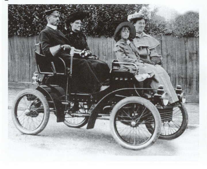 Vauxhall 1903 4 seater Car