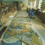 the doulton frieze is laid out