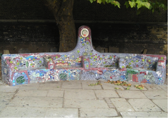 southbank mosaics homeless memorial