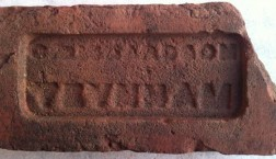 brick made by richardsons, vauxhall