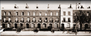 photo of terraced houses on brixton road london