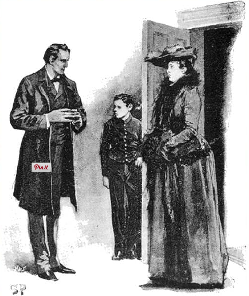 illustration of conan doyle's case of identity
