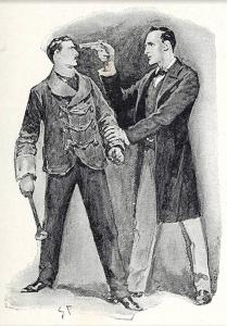 illustration of conan doyle's The Beryl Coronet