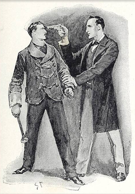 illustration of conan doyle's The Beryl Coronet