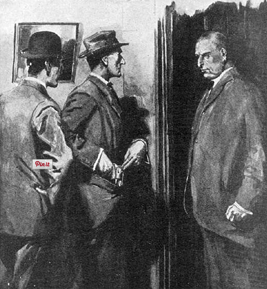 illustration for conan doyle's disappearance of lady frances carfax