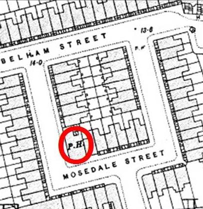Detail of Mosedale Street
