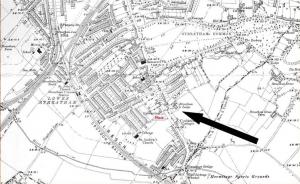 map showing streatham lodge