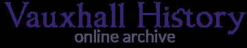 Vauxhall History