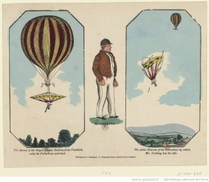 Robert Cocking: rise and fatal fall of a pioneer parachutist