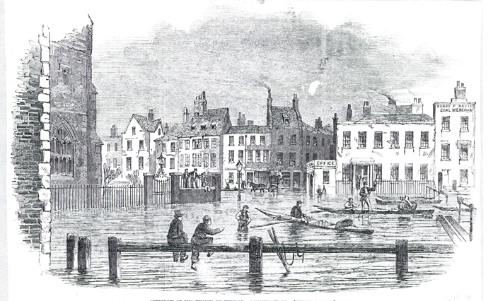 1877: when Old Father Thames turned on his children –again