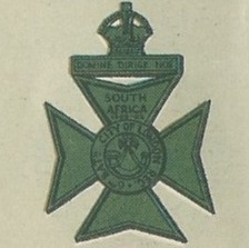 Cap badge of the City of London Rifles