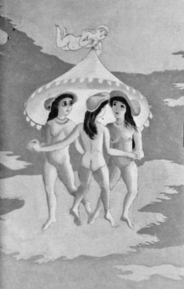 The Three Graces by Edward Bawden