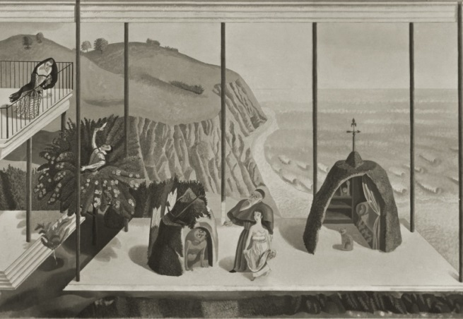 Love's Labours Lost:the Morley College murals of Eric Ravilious and Edward Bawden