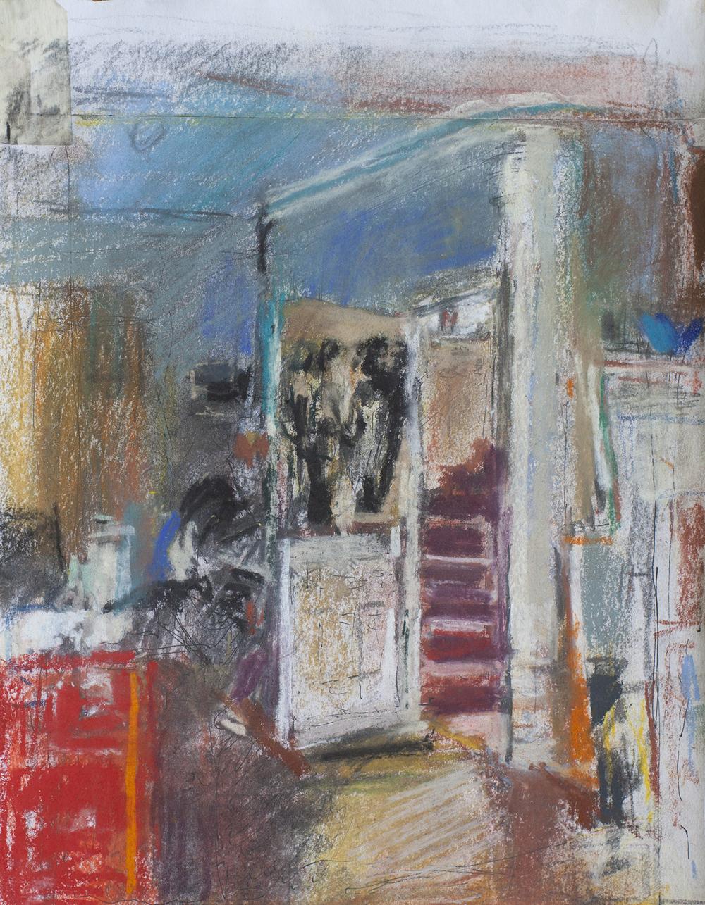 Studio Interior and Stairs