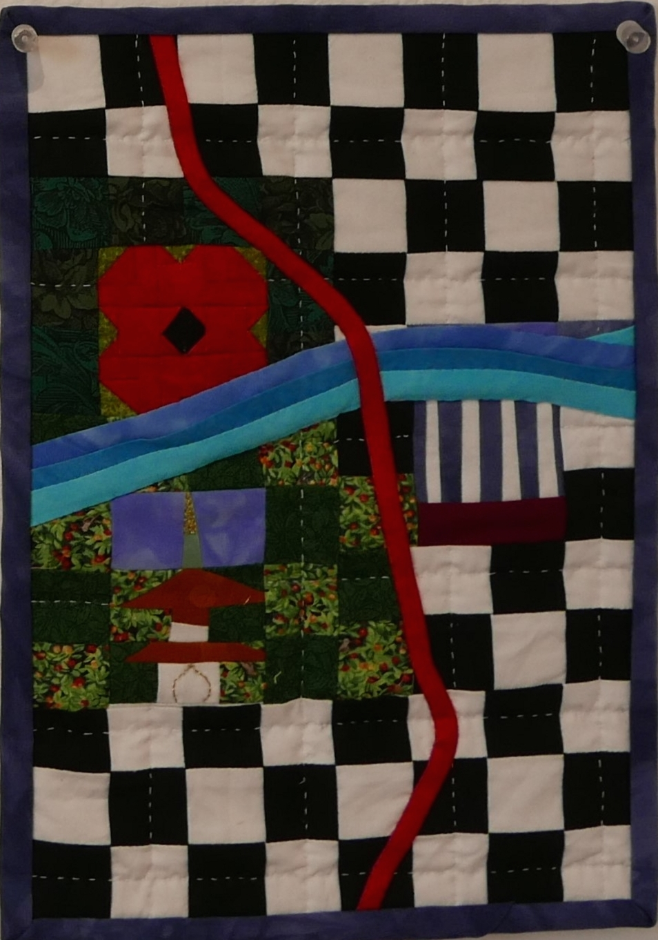The Thames in Textiles: Work from the Morley show