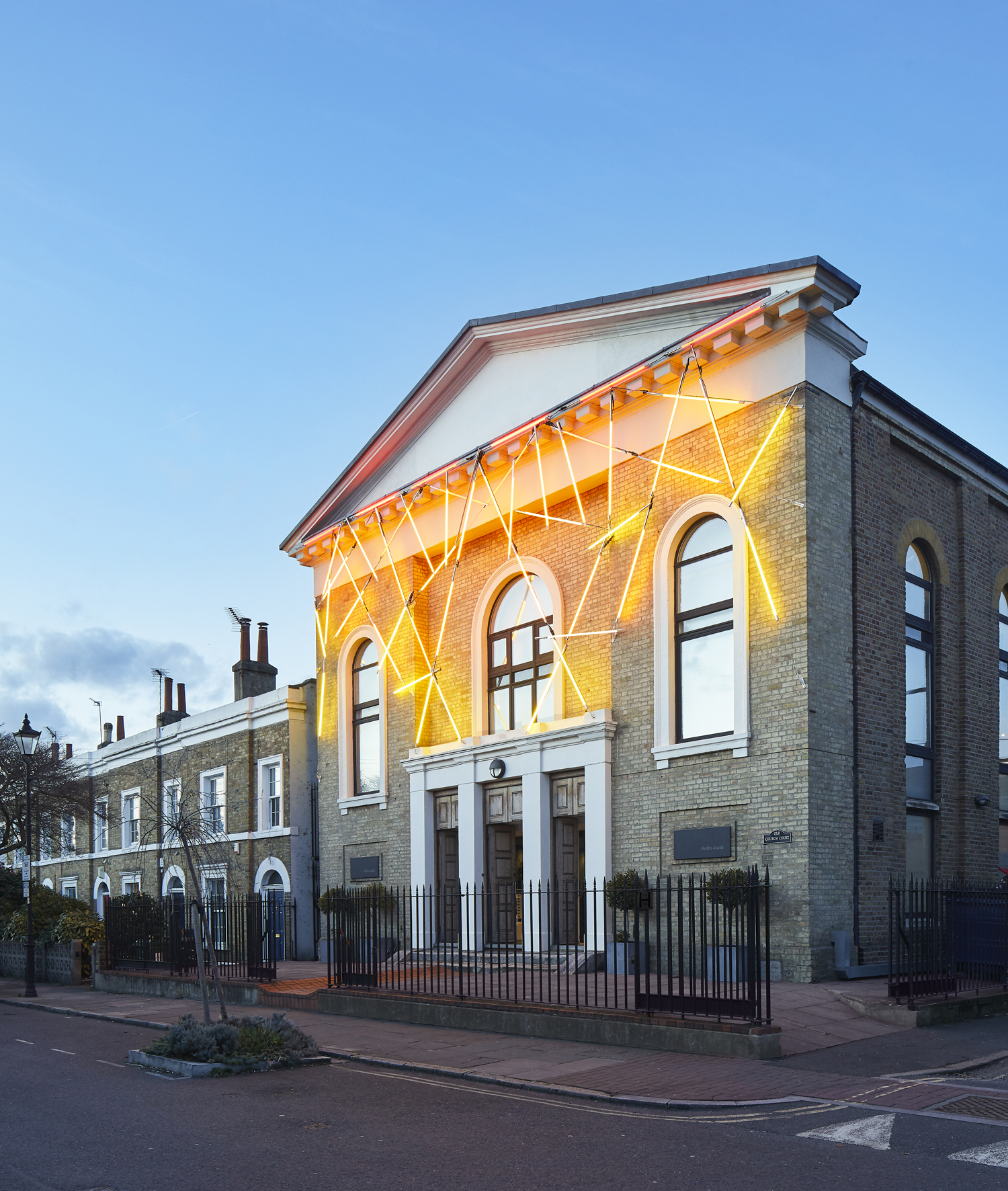 Rolfe Judd's light-touch makeover of a Victorian Chapel