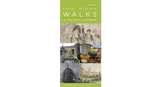 South London Local History Walks Leaflet 2018–19