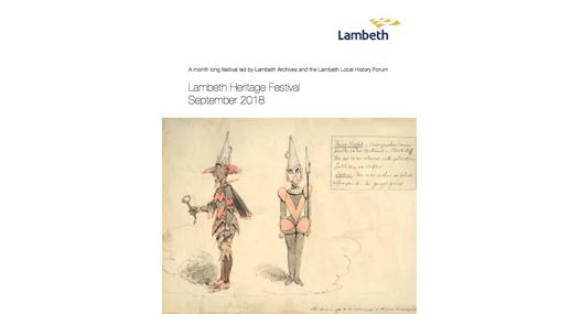 Lambeth Heritage Festival: September 2018