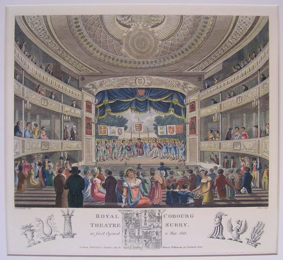 The Old Vic and the murder of Mary Ashford: the opening night of the Royal Coburg Theatre, 11 May 1818