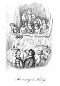 An evening at Astley's by WM Thackeray