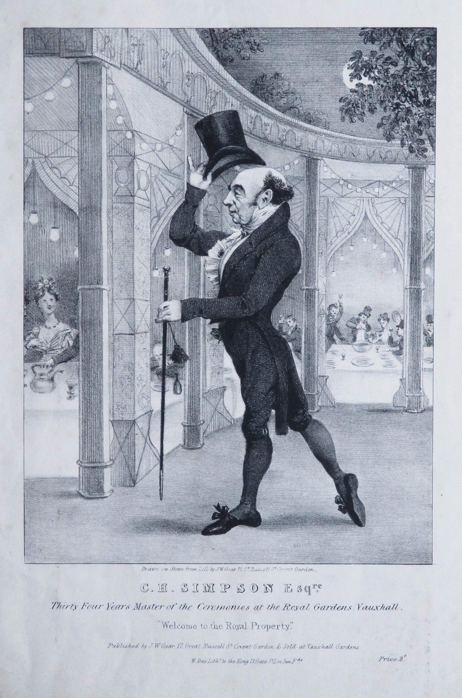 C. H. Simpson by W. Day (1831)