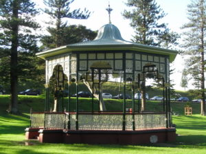 photo of the rotunda in King Edward Park, Newcastle, New South Wales